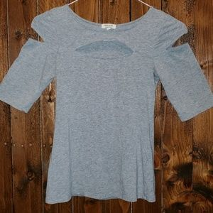 Heart & Hips Women's Cut Out Shirt
